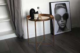 ikea gladom hack ikea hack une table basse version rose gold beautyoverbros