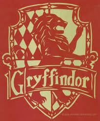 gryffindor crest papercutting satu fairytale deviantart
