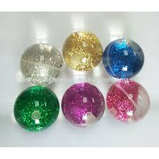 china glitter water bouncing balls from shenzhen trading
