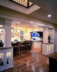 living room kitchen open floor plan best 25 room separating ideas on wood beams room