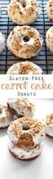 gluten free carrot cake donuts grain changer