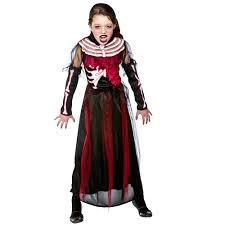 Skeleton Halloween Costume Kids Zombie Skeleton Queen Kids Costume From A2z Kids Uk
