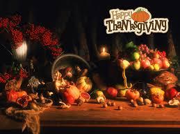 happy thanksgiving day pumpkin fruits flowers hd wallpaper