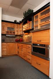 kitchen black cabinet with glass doors replacement kitchen