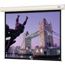 motorized home theater screen da lite 40789 cosmopolitan electrol motorized projection 40789