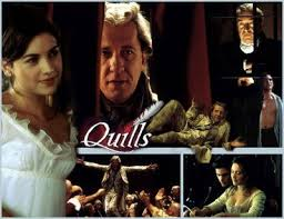 quills movie video no smoking in the skull cave movie of the week quills