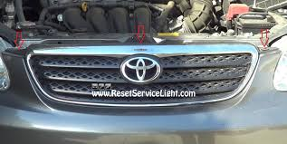 toyota ww how to change the front grille on toyota corolla 2003 2008 u2013 reset