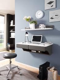 Schreibtisch Eckig Desk Schreibtisch Hängend Wandboard Tisch Weiß Grau Büro