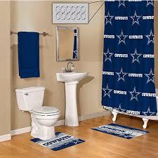 western themed bathroom ideas remarkable dallas cowboys 15 piece bath set home office of cowboy
