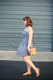 black and white gingham fit and flare dress create enjoy