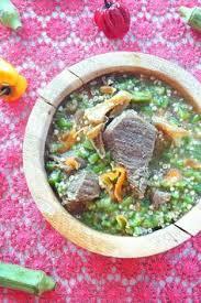 駑ission de cuisine tour of africa senegalese soupou kandia seafood okra soup