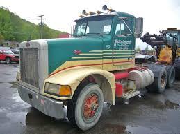 peterbilt truck dealer 1990 peterbilt 377 tandem axle day cab tractor for sale by arthur