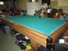 non slate pool table slate pool table plans
