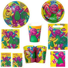 Barney Party Decorations Barney U0027s Birthday Vhs On Popscreen