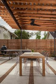 wood patio cover patio contemporary with outdoor dining table wood