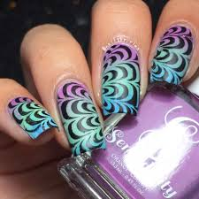 whats up nails water marble stencils whats up nails