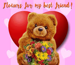 flowers for my flowers for my best friend free for a friend ecards greeting cards