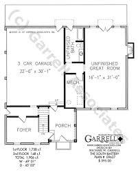 south battery house plan house plans by garrell associates inc