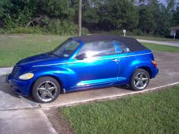 2005 chrysler pt convertible gt turbo used chrysler pt cruiser