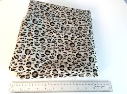 Cheetah Print Curtains by Vintage 90s Leopard Print Fabric Yardage Brown Cheetah Wild Cat