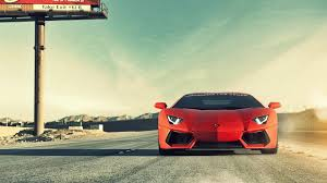 car lamborghini red lamborghini red sports car on the road hd wallpapers rocks