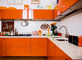 Orange Kitchen Cabinets Home Design Ideas - Orange kitchen cabinets