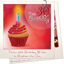 thirty 30th birthday wishes to brighten the day