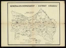 generalgouvernement distrikt krakau u2013 polona