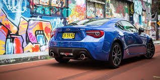 supercharged subaru brz 2017 subaru brz review caradvice