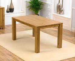 oak wood dining table oak furniture dining table sl interior design