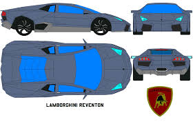 cartoon lamborghini lamborghini reventon by bagera3005 on deviantart