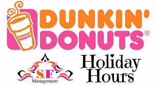 sardinia family dunkin donuts hours
