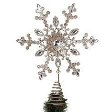 martha stewart living snowflake tree topper everything
