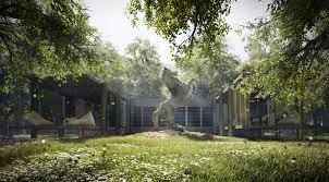 3d render valkyrian house architectural visualization studio e2