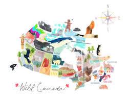canada map etsy