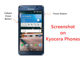kyocera android how to take screenshot on kyocera android phones