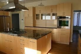Modern Maple Kitchen Cabinets Handmade Modern Maple Kitchen By Gardner Woodworking Inc