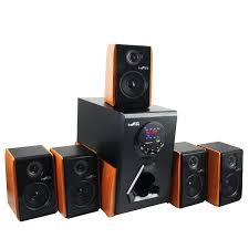 surround sound home theater system amazon com befree sound luxury home and office 5 1 channel