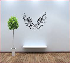 Wings Wall Decor Wooden Angel Wings Wall Decor Home Design Ideas