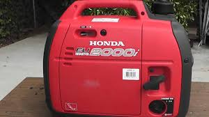 honda generator eu2000i 2000 explained youtube
