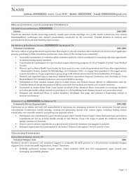 Sample Public Health Resume by Student Resume Samples Resume Prime