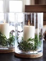 Table Decoration For Christmas Ideas by Best 25 Hurricane Vase Ideas On Pinterest Dollar Store