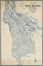 Map Of New Mexico And Arizona by Denny U0027s Pocket Map Of San Mateo County California Compiled From