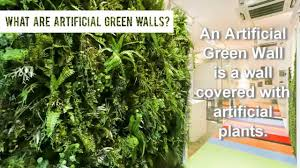 a short introduction to artificial vertical green walls by