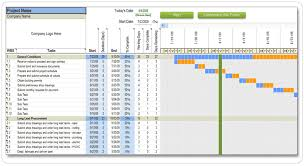 Construction Timeline Template Excel House Construction Project Schedule House Style