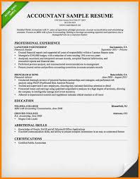 Accounting Resume Samples by 12 Cv Format Of Accountant Cashier Resumes