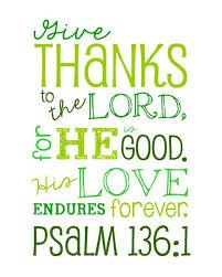 thanksgiving biblical quotes