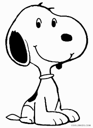 baby snoopy colouri simple snoopy valentine coloring pages