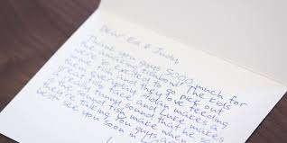 how to write a killer customer thank you note