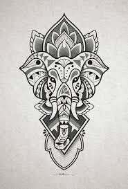 elephant design for inner forearm http instagram